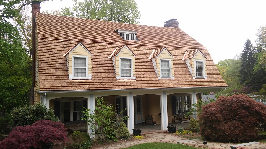 Cedar Roofing Installation in historic Montclair, NJ