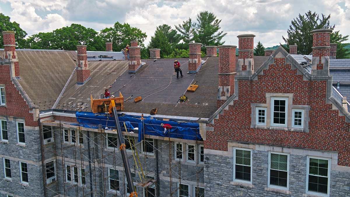 Fania Roofing | Blair Academy's Clinton Hall Gets A New Roof Sure To